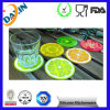 Eco-Friendly Silicone Antiskid Cup Mat Table Coaster