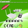 Economic Full 4 Channel 1MP WiFi IP Camera NVR Kit (WIFIPY420)