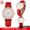 Yxl-939 New Fashion Small Leather Strap Geneva Watch Women Candy Color Casual Jelly Watch for Ladies