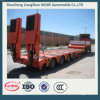 The Widely Used Machine Transport Low Bed Truck Trailer