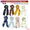 Wholesale Party Supply Customize Logo Tie Scrunchies Hair Scarf Tie Birthday Gift (P1003)