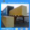 Construction High Fireproof PU Sandwich Panel for Storage Room
