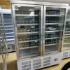 2 Glass Door Display Cooler / Refrigeration Cooling System /Merchandiser Chiller with High Quality for North America Market