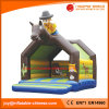 2018 Inflatable Cow Moonwalk Jumping Bouncer for Kids (T1-003A)