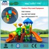 Kids Play Set Outdoor Playground Equipment Plastic Slidestxd17-K091A