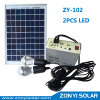 Solar DC Light System for Home Use with Mobile Charger