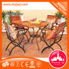Comfortalbe Outdoor Furniture Wooden Folding Beach Chair with Back