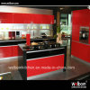 2016 Modern Home Design Red Painting Kitchen Cupboard