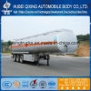 3 Axles 45500lliters Aluminum Oil Tanker/ Fuel Tank Semi Trailer with 4 Inch Manhole Cover Customs Data