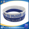 Enamel-Filled Silicone Rubber Wristband for Fashion Show (Ele-WS004)