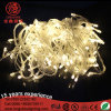 Waterproof LED Warm White Light String Steady on 10m/100LEDs Ce&RoHS