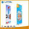 Portable Folding Scroll Pull up Banner Stand Display for Advertising