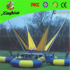 Inflatable Round Outdoor Bungee on Trailer
