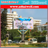 Double Side LED Cabinet Advertising Screen Outdoor Billboard Structure LED Display