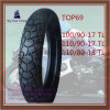 Size 100/90-17tl, 110/90-17tl, 110/80-18tl Tubeless, ISO Nylon 6pr Motorcycle Tyre