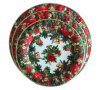 Round Christmas Plastic Tray of Food/Plastic Tray Suppliers