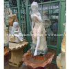 Stone Sculpture Lady Hand Flouring Fountain (SY-F059)