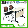 Office Folding Meeting Desk with Chair for Training