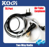 High Quality Clear Tube 2-Way Radio Earphone K06 for Radios