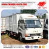 Double-Axle China Mini Van Truck with Side Door