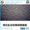 Gel Coat Diamond Fiberglass Decorative Sheet for Wall Building