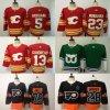 Giroux Hart Gaudreau Giordano Flames Whales Flyers Third Hockey Jerseys