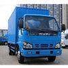 120HP Isuzu Van Truck 5tons Closed Body Cargo Truck