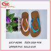 2016 Summer Imitative Knitted PVC Ladies′ Flip Flops