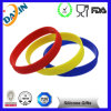 Embossed Logo Printed Custom Cheap Silicon Luminous Bracelet