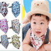 High Quality Soft 100% Cotton Bandana Baby Bib