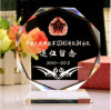 Round K9 Crystal Trophy for Souvenir