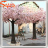 Outdoor Decoration Fiberglass Artificial Cherry Blossom Tree