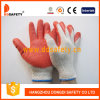 Ddsafety 2017 2 Wire Economic Beige T/C Shell Red Latex Smooth Finished Working Gloves
