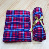 High Warmth Retention and Comfortable Travel Blanket Plain Outdoor Coral Fleece Blanket
