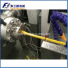 Plastic Stainless Steel PVC Coated Gas Pipe Extrusion Line / Extruder Machine