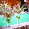 Round Acrylic Wedding Flower Display Stand