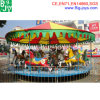 Children Merry Go Round Carousel Horse Roundabout Amusement Park Equipment
