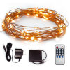 30FT 100 LEDs Starry String Lights DC5V Copper Wire Lights for Indoor, Outdoor, Decorative