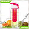 Customized Fruit Infuser Water Bottle Leak Proof