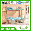 School Dormitory Beds Metal Frame Bunk Bed with Drawer (BD-72)