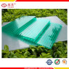 6mm Frosted Crystal Green Blue Polycarbonate Hollow Sheet Building