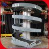Small Footprint Vertical Spiral Elevator Conveyor for Carton Box Bottle Cans