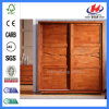 Wood Laminates Design HDF Molded Sliding Cloth Door