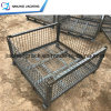 Heavy Duty Collapsible Mesh Box Warehouse and Rigid Wire Mesh Pallet Box