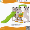 Children Indoor Plastic Panda Swing and Slide