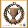 Bronze Trophy Shape Insided Zinc Alloy Medal Award Used