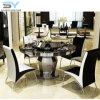 Living Room Furniture Dining Table Set Round Glass Dining Table