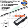 Anti Glare Recessed LED Linear Light 50mm Width 30mm Height