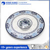 Custom Logo Multicolor Dinner Food Melamine Plate for Restaurant