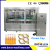 Reliable Sparkling Water Filling Packing Machinery / Carbonated Soft Drink Bottle Filling Machine for Glass Bottles